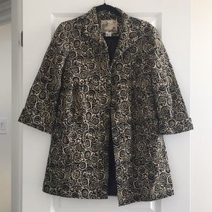 Kensie patterned coat